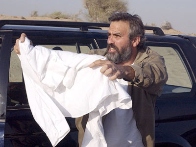 George Clooney in Syriana. Screenshot